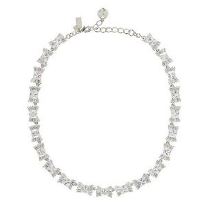 NWT Kate Spade Le Soir Crystal Bow Necklace